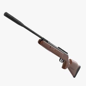 crosman air rifle gun 3D model