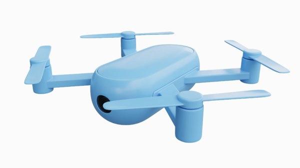 drone blue model
