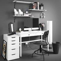 3D set workplace