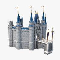 castle entrance 3D