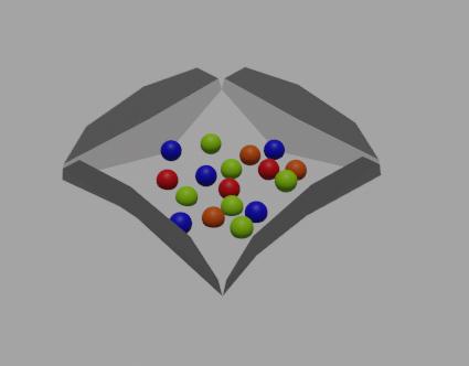 sheet gumballs 3D