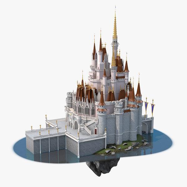 magic castle 3D