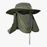 outdoor fishing hat removable model