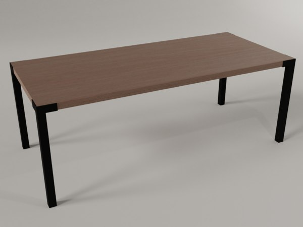 table desk model