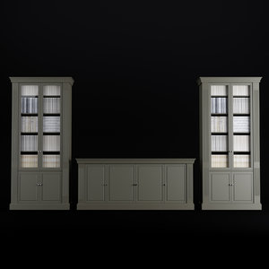 3D model commode cabinet