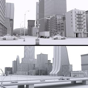 city details 3D model