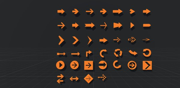 3D games - icons text model