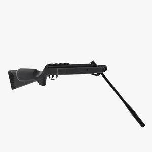 3D break barrel air rifle