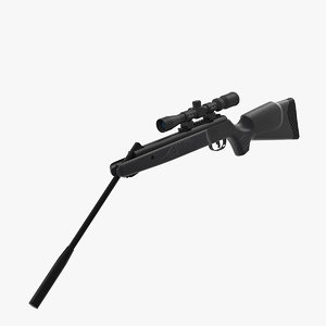 3D break barrel air rifle scope