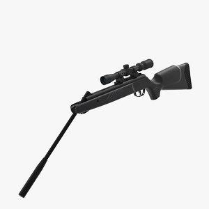 3D break barrel air rifle scope