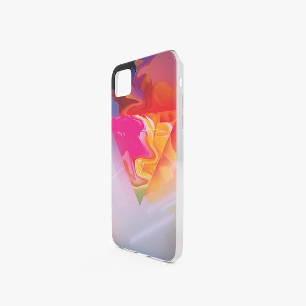 3D model iphone case