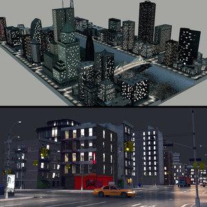 night city 3D