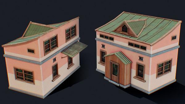 house color e 3D model