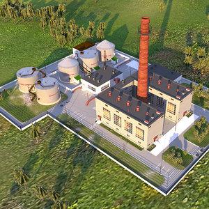 3D heat plant