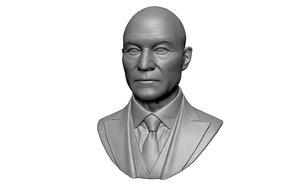 3D model charles xavier professor x