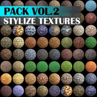 Stylized Texture Pack - VOL 2