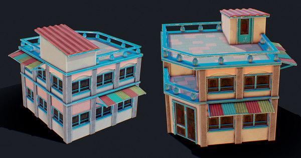 3D house color f