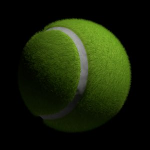 tennisball tennis ball 3D model