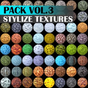 Stylized Texture Pack - VOL 3