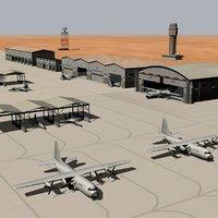Military Air Base