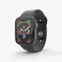 3D model apple watch space