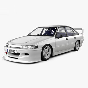 holden commodore touring 3D model