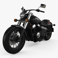 honda shadow phantom 3D model