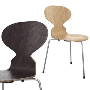 3D ant chair fritz hansen