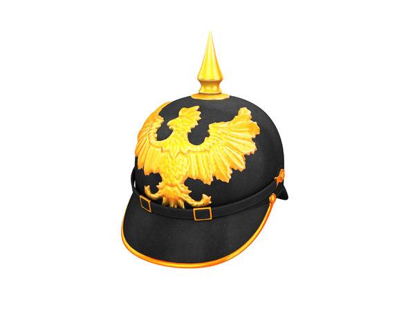 pickelhaube helmet model