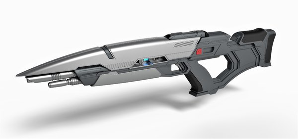 Sci-Fi Rifle 3D Models for Download | TurboSquid