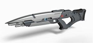 phaser rifle 3D