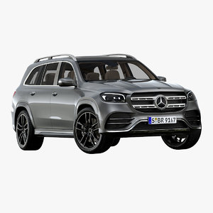 2020 mercedes-benz gls 3D