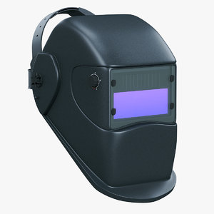3D automatic welding mask