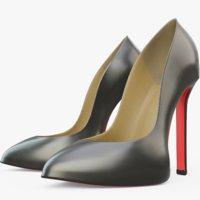 women shoe model