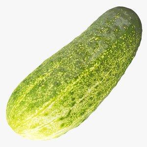 3D cucumber 02 hi