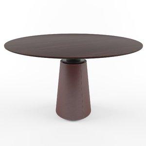 poltrona frau mesa 3D model