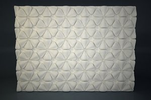 3D model pattern relief