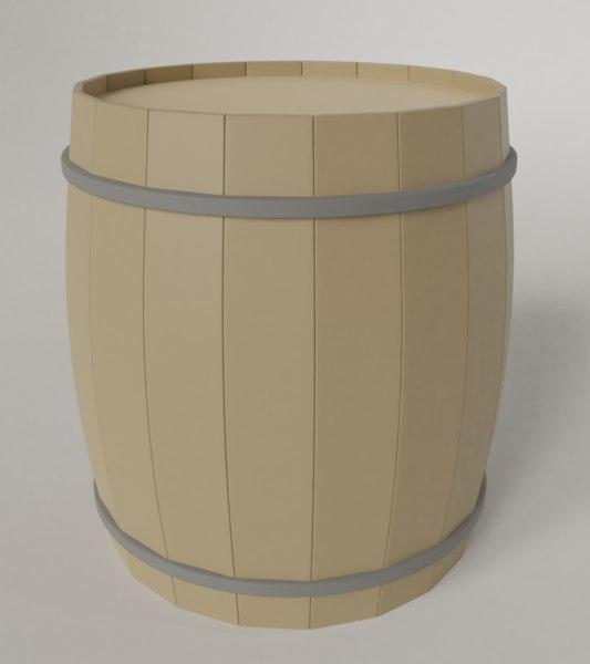 3D barell model
