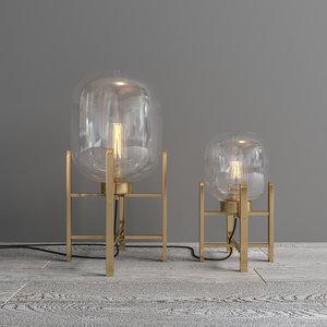 lamp flamant kaorie 3D