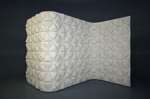 3D panel 03 model