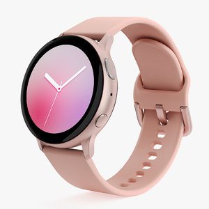 samsung galaxy watch active 3D model