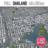 Oakland, CA - city and surroundings