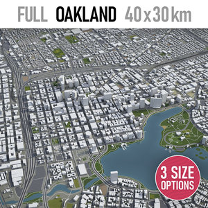 oakland surrounding - model