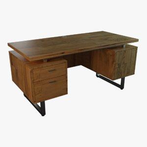 3D modern desk