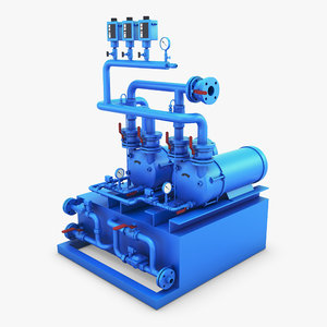 generic industrial compressor 1 model