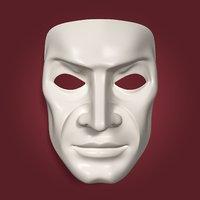 3d anonymous mask model