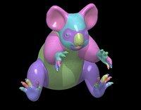 Koala Base Mesh