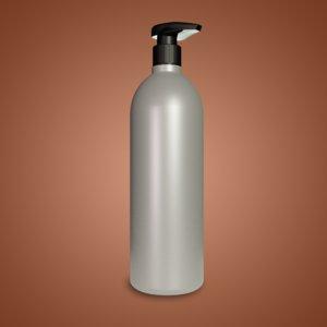 3D shampoo bottle dispenser