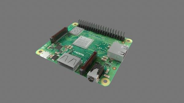 3D raspberry pi
