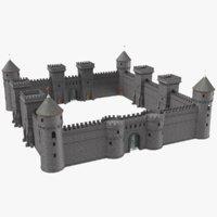 3D real castle